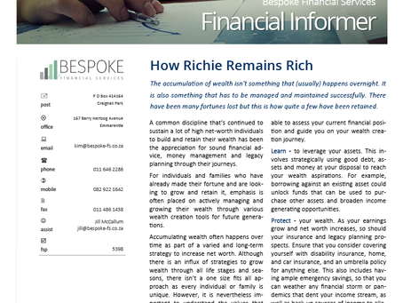 Financial Informer 2nd Quarter 2021