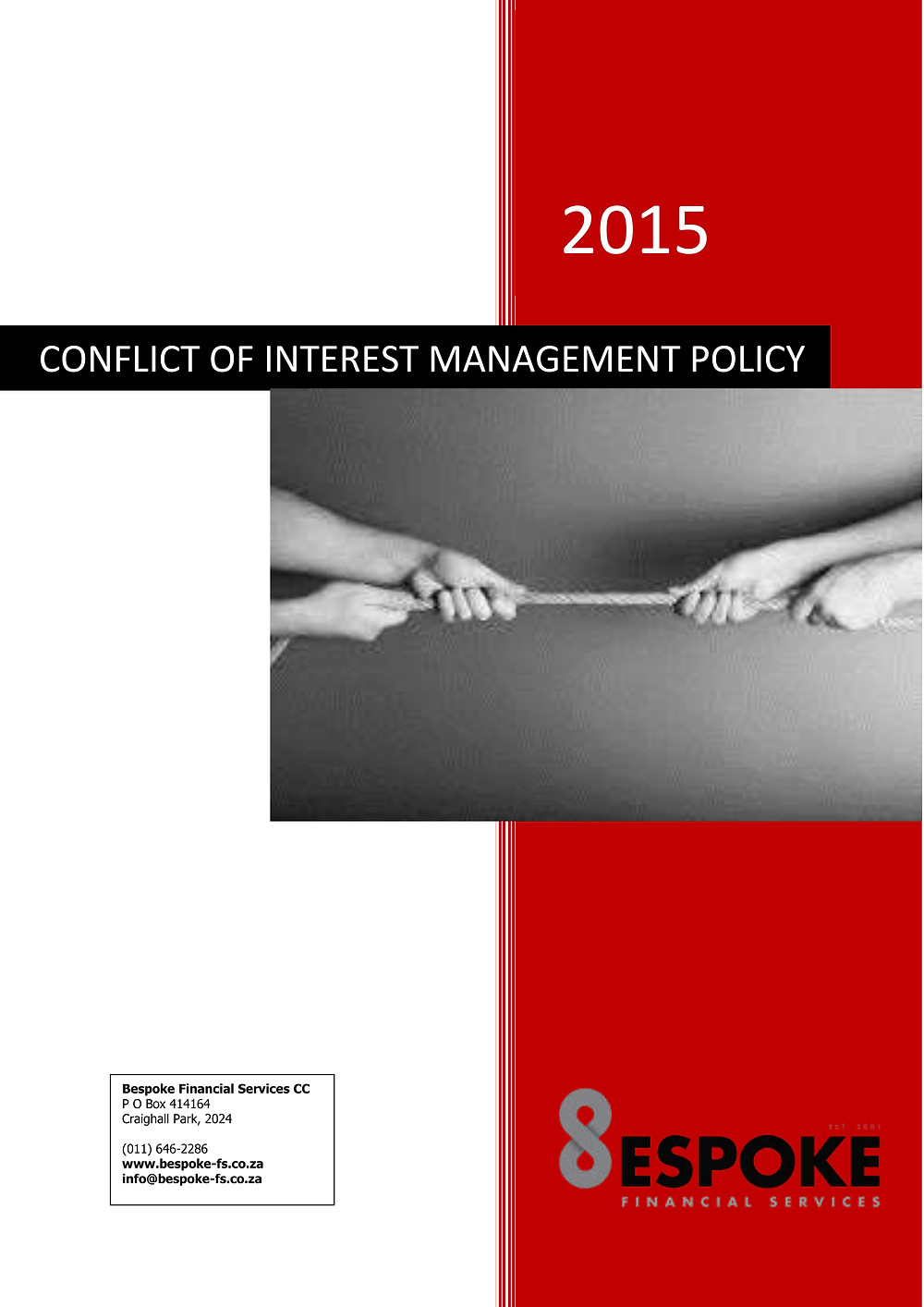 CONFLICT OF INTEREST MANAGEMENT POLICY 2015 cover_1.jpg