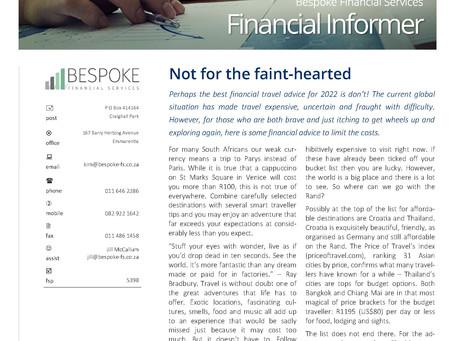Financial Informer 4th Quarter 2021
