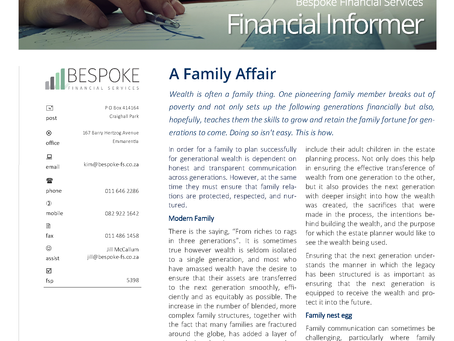 Financial Informer 3rd Quarter 2021