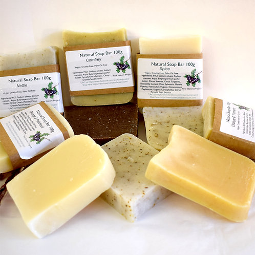 Natural, Organic & Vegan - Soap by Newhaven