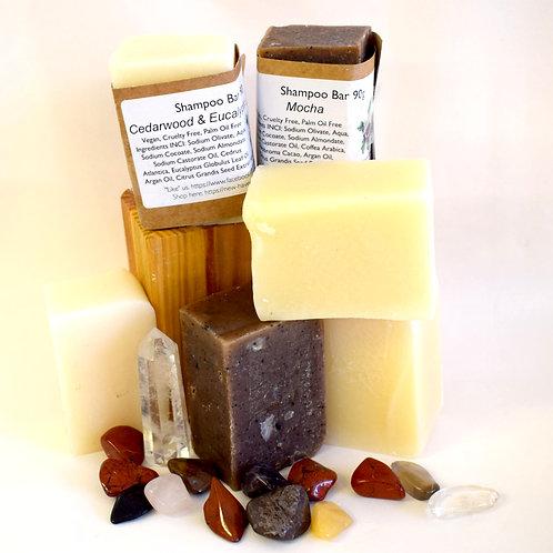 Natural Shampoo Bar by Newhaven - Organic, Vegan