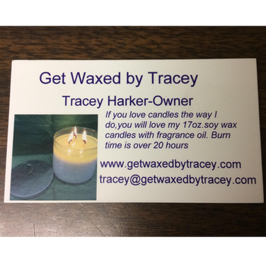 Tracey enjoys creating candles unique to her! These candles are made with soy wax and fragrances oils to bring you over 24 varieties. The scents will fill up your house!  From Mukwonago, Wisconsin.