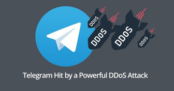 Telegram Affected Powerful DDoS Cyber Attack From China