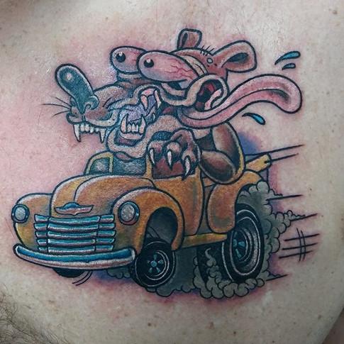 Rat fink Tattoo
