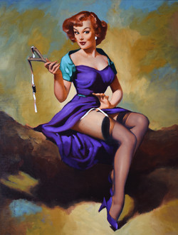 Pin up Sling Shot