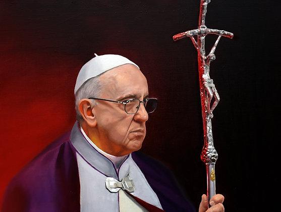 Pope Francis (purple)