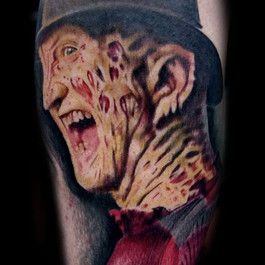 Freddy Kruger Tattoo