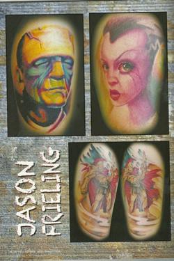 magazine tattoo