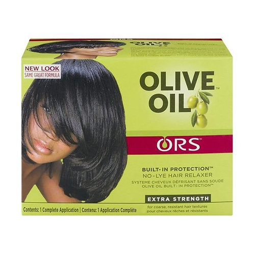 Olive Oil Built-In-Protection No Lye Relaxer Extra Strength