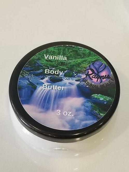 3 oz Vanilla Body Butter