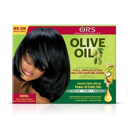 Olive Oil Built-In-Protection No Lye Relaxer Normal