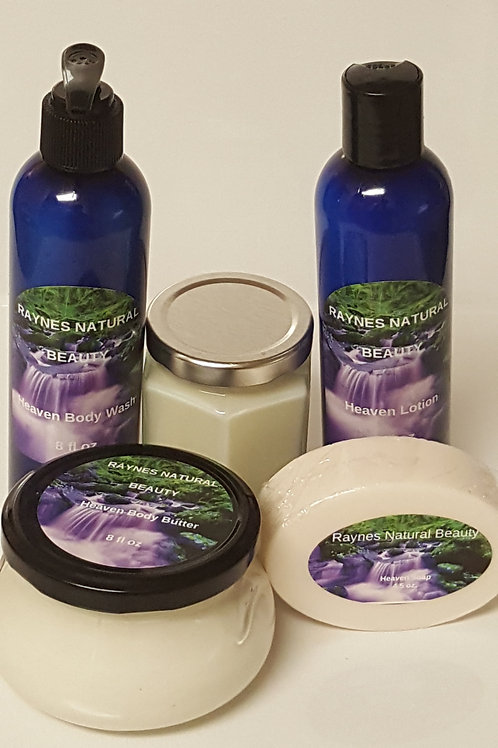 Lavender Spa Set  for Oily Skin with Lip Balm