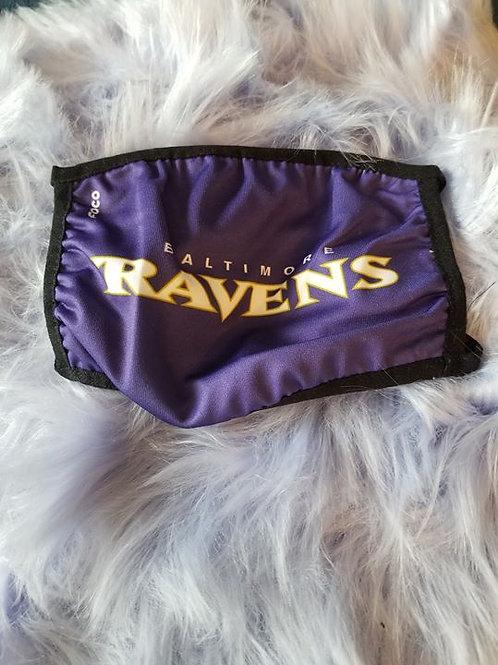 Ravens Face Mask