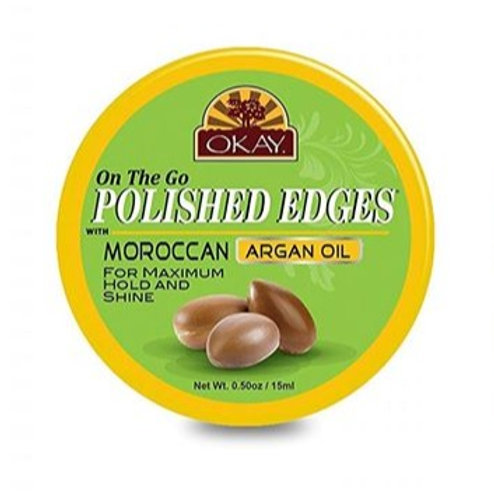 Okay Polished Edges with Moroccan Argan Oil