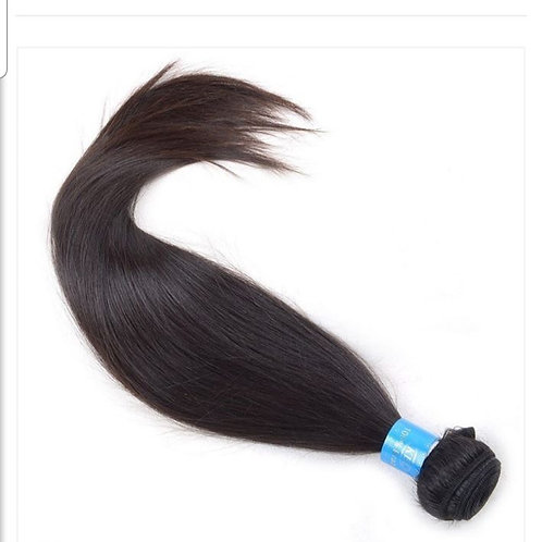 "16"" Brazilian Silky Straight Hair Bundle"