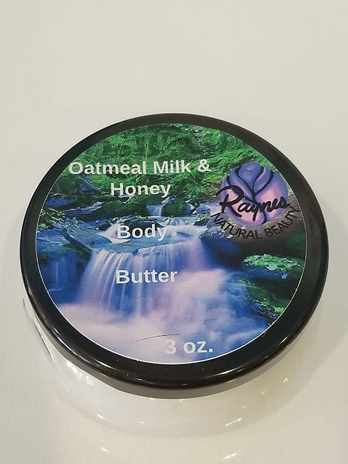 3 oz Oatmeal Milk & Honey Body Butter