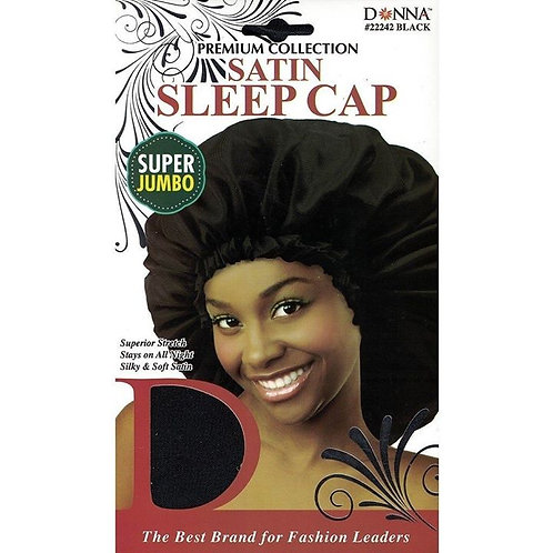 Donna Satin Sleep Cap Super Jumbo