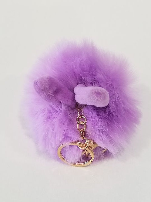 Fluffy Bunny Toys Ear Key chain
