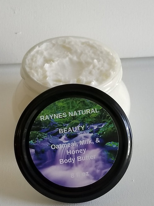 8 oz Body Butter and 3 oz Body Butter