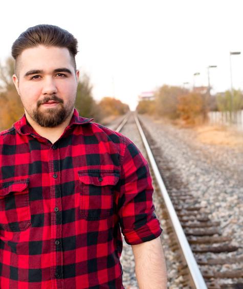 At the tracks