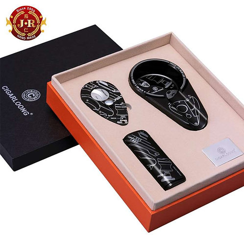Cigar Suit Geschenkbox, schwarz