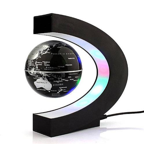 Schwebender Globus, mit LED Licht