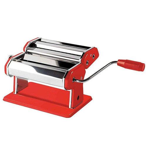 Nudelmaschine Jamie Oliver, edelstahl / rot