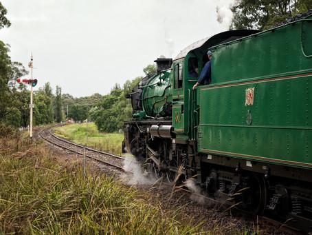 NSW Rail Museum Loop Line upgrade