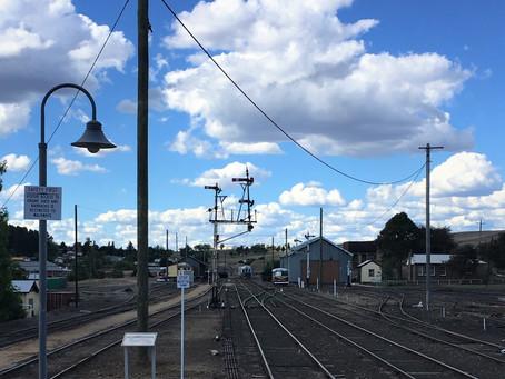 Project progression for Cooma Monaro Railway