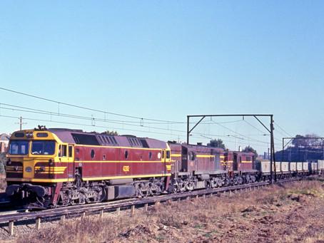NSWGR 422 class locomotives