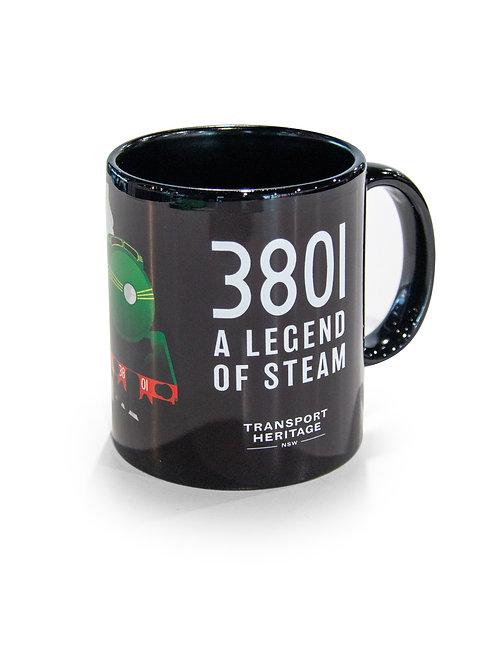 Locomotive 3801 Mug