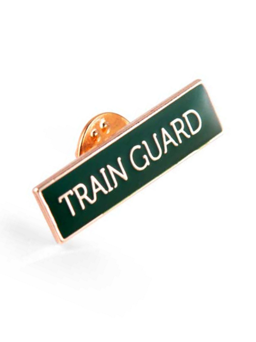 Pin: Train Guard