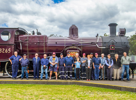 The NSW 32 class locomotives