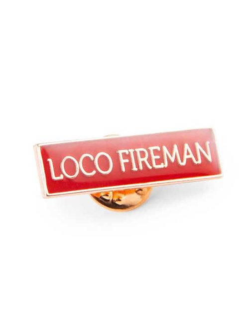 Pin: Loco Fireman