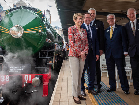 NSW Governor officially relaunches 3801