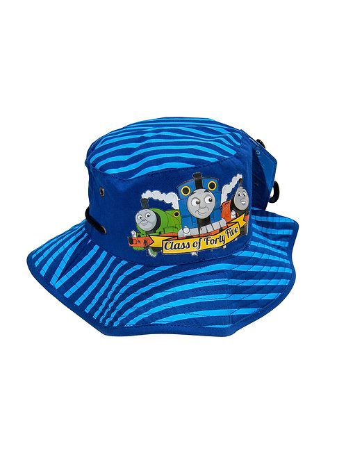 Thomas & Friends Floppy Bucket Hat - Class of Forty Five blue stripes