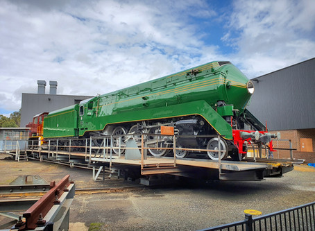 Locomotive 3801 revealed
