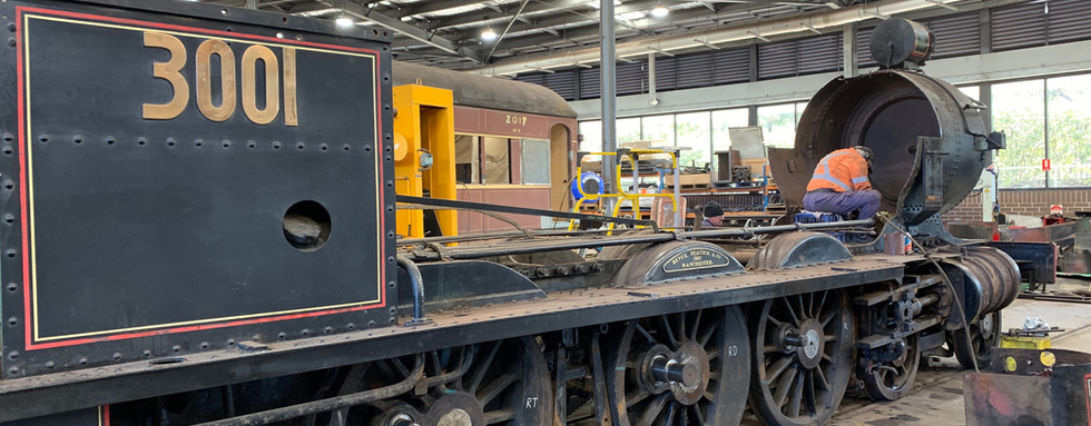 Under restoration