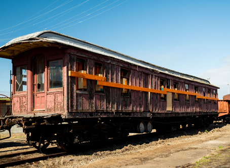 1880s timber car prepares for relocation