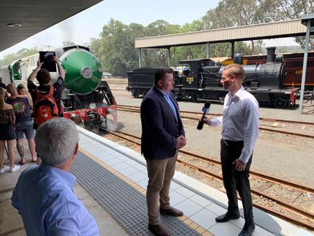 Locomotive 3801 returns to NSW Rail Museum