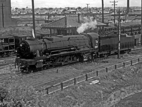 NSWGR builds its last steam locomotive