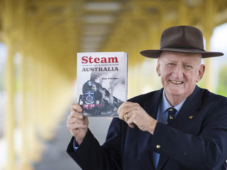 Statement on the passing of former deputy PM and rail advocate, Tim Fischer AC