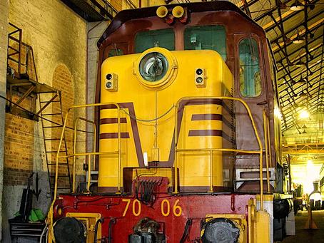 Diesel-hydraulic shunting locomotive 7006 (part 3)