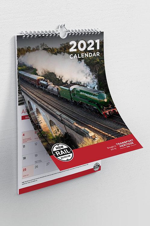 2021 NSW Rail Museum Calendar