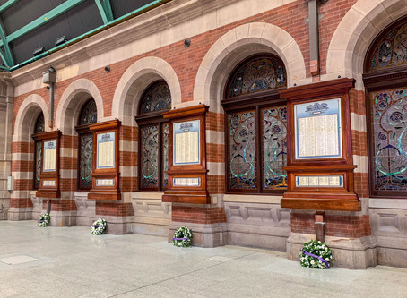 Central Station WWI honour boards unveiling