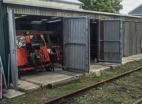 NSW Railways 1961 design Standard Gang Shed is built and stocked