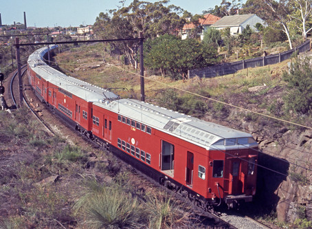Sydney's first double-deck suburban cars