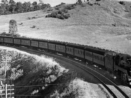 1940s sleeping carriage restored