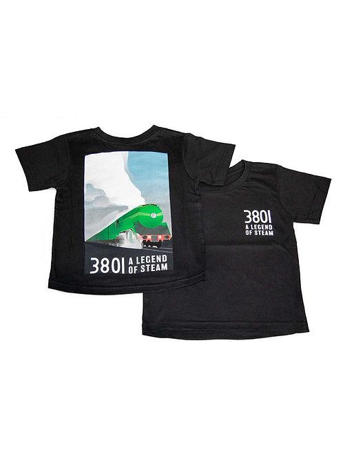 Locomotive 3801 A Legend of Steam T-Shirt